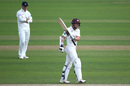 Scott Borthwick acknowledges the crowd's applause, Surrey v Hampshire, County Championship, The Oval, August 20, 2019