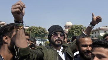 Sreesanth reacts after the Supreme Court set aside the life ban in March 2019