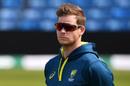 Steve Smith looks on as Australia train before the Leeds Test, England v Australia, 3rd Test, The Ashes, Headingley, August 21, 2019
