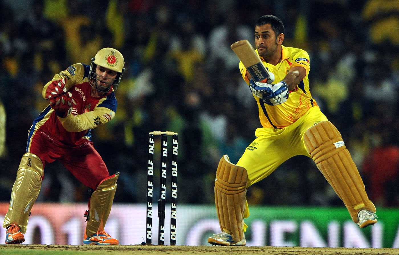 Thala before the storm: in 24 matches across ten IPL seasons, Dhoni has captained Chennai Super Kings to 16 wins against Royal Challengers Bangalore