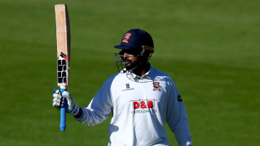 Vijay scored three fifties and one hundred in his five innings for Essex last season