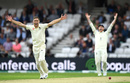 Chris Woakes appeals for lbw, England v Australia, 3rd Ashes Test, Headingley, 1st day, August 22, 2019