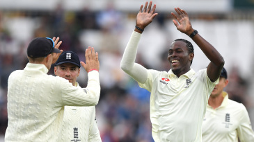 Jofra Archer enjoyed success during the evening