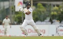 Dimuth Karunaratne punches through the off side, Sri Lanka v New Zealand, 2nd Test, Colombo, 2nd day, August 23, 2019