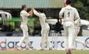 Tim Southee celebrates a wicket, Sri Lanka v New Zealand, 2nd Test, Colombo (PSS), 2nd day, August 23, 2019