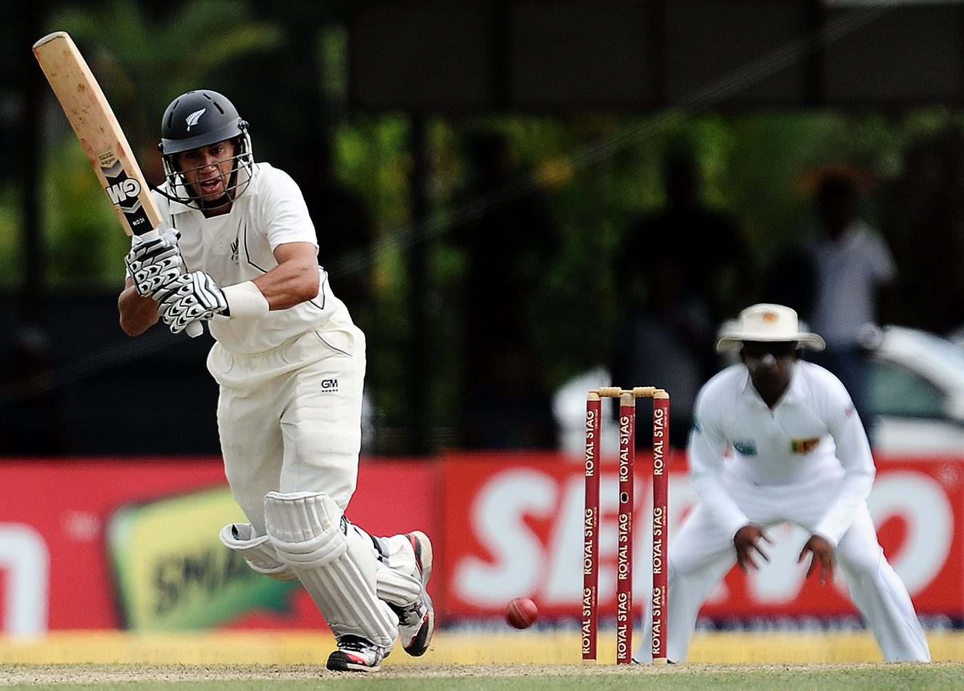 Taylor scored 142 in a famous Test win in Cololmbo shortly after learning that he was being removed from captaincy