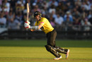 Michael Klinger works into the leg side, Gloucestershire v Somerset, Vitality Blast, Bristol, August 23, 2019