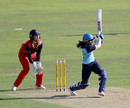 Jemimah Rodrigues smashes one onto the leg side, Yorkshire Diamonds v Lancashire Thunder, Scarborough, August 23, 2019