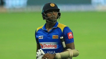 Angelo Mathews last played a T20I in August 2018