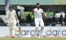 Lahiru Kumara celebrates a wicket, Sri Lanka v New Zealand, 2nd Test, Colombo (PSS), Day 3, August 24, 2019