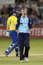 Jack Shutt claimed a five-wicket haul, Durham v Yorkshire, Vitality Blast, North Group, August 23, 2019