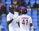 Jason Holder and Miguel Cummins frustrated India for nearly 18 overs, West Indies v India, 1st Test, North Sound, 3rd day, August 24, 2019
