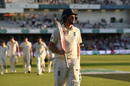 Joe Root walks off with an unbeaten 75, England v Australia, 3rd Ashes Test, Headingley, August 24, 2019