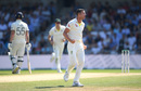 Josh Hazlewood made the breakthrough after lunch, England v Australia, 3rd Ashes Test, Headingley, August 25, 2019