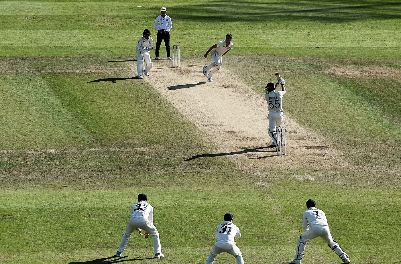 Stokes hits the last of his 11 fours in the innings, bringing up the win