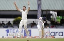 Tim Southee removes Dimuth Karunaratne, Sri Lanka v New Zealand, 2nd Test, Colombo (PSS), Day 5, August 26, 2019