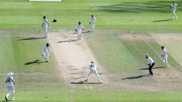 The action got frenzied, and frenetic, as the Headingley Test drew to a close