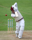 Tom Banton drives down the ground, day three, Specsavers County Championship Division One, Somerset v Hampshire, The Cooper Associates County Ground, Taunton, England, July 02, 2019