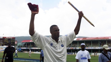 Courtney Walsh, one of Jamaica's finest, signs off from Test cricket at Sabina Park in 2001