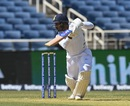 Mayank Agarwal steers one through the off side, West Indies v India, 2nd Test, Kingston, August 30, 2019