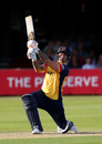 Cameron Delport goes down the ground, Essex v Kent, Vitality Blast, South Group, Chelmsford, August 30, 2019