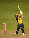 Chris Cooke carves over the off side, Glamorgan v Hampshire, Vitality Blast, South Group, Cardiff, August 30, 2019