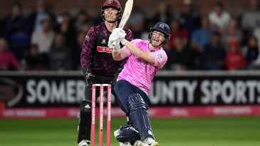 Eoin Morgan was in six-hitting mood
