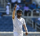 Jasprit Bumrah became the third Indian to take a Test hat-trick, West Indies v India, 2nd Test, Kingston, 1st day, August 31, 2019