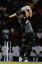 Daryl Mitchell swings down the ground, Sri Lanka v New Zealand, 1st T20I, Pallekele, September 1, 2019