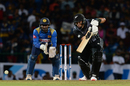 Ross Taylor keeps his eyes on the ball, Sri Lanka v New Zealand, 1st T20I, Pallekele, September 1, 2019