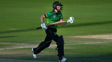 Heather Knight celebrates her side's victory