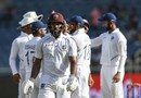 John Campbell walks off the field, West Indies v India, 2nd Test, Kingston, September 1, 2019