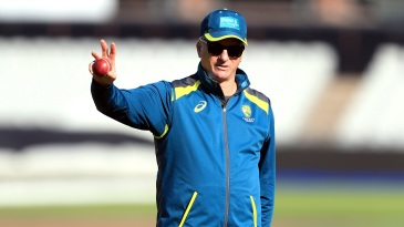 Steve Waugh is back in the Australia camp after missing the Headingley Test