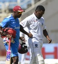 Darren Bravo walks off the field early on the fourth day, West Indies v India, 2nd Test, Kingston, 4th day, September 2, 2019