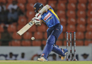 Kusal Mendis goes down the ground, Sri Lanka v New Zealand, 2nd T20I, Pallekele, September 3, 2019