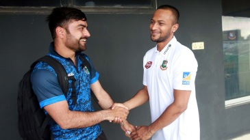 Rashid Khan and Shakib Al Hasan, top-class performers now tasked with taking their teams in a new direction