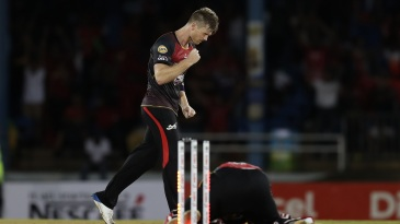 James Neesham played a starring role with bat and ball
