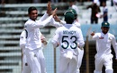 Mahmudullah celebrates a wicket, Bangladesh v Afghanistan, Only Test, Chattogram, 1st day, September 5, 2019