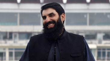 Misbah-ul-Haq is all smiles after his appointment