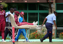 Kycia Knight is taken off the field on a stretcher, West Indies v Australia, 1st ODI, Antigua, September 6, 2019