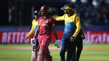 Pooran made 118 against Sri Lanka in the World Cup - his highest ODI score - but West Indies were all out for 315 chasing 339