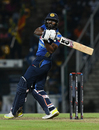 Lahiru Madushanka looks on behind square, Sri Lanka v New Zealand, 3rd T20I, Pallekele, September 6, 2019