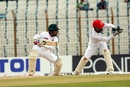 Mominul Haque steers one onto the off side, Bangladesh v Afghanistan, Only Test, Chattogram, 4th day, September 8, 2019