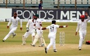 Zahir Khan wheels away in celebration, Bangladesh v Afghanistan, Only Test, Chattogram, 4th day, September 8, 2019
