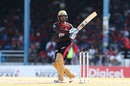 Denesh Ramdin swivels during a pull, St Lucia Zouks v Trinbago Knight Riders, Caribbean Premier League 2019, Port of Spain, September 08, 2019