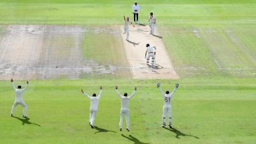 Stuart Broad - around the wicket, bang on target