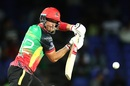 Laurie Evans en route to his 21st T20 fifty, St Kitts and Nevis Patriots v Barbados Tridents, CPL 2019, Basseterre, September 11, 2019