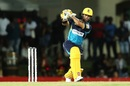 JP Duminy plays on the leg side, St Kitts and Nevis Patriots v Barbados Tridents, CPL 2019, Basseterre, September 11, 2019