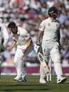 Mitch Marsh celebrates the dismissal of Ben Stokes, England v Australia, 5th Test, London, September 12, 2019