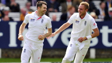 James Anderson has taken the most wickets this current decade, with Stuart Broad following close behind